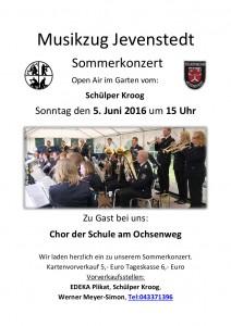 Plakat Sommerkonzert A4
